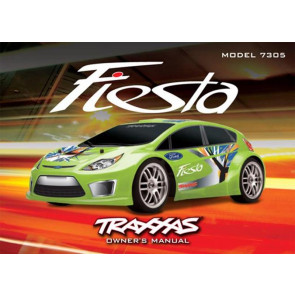 Traxxas Owners Manual Ford Fiesta 7395