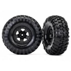 Traxxas Premounted Tyres TRX-4 Sport Wheels/Canyon Tyres 2.2inch (2pc) 8181