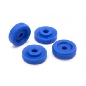 Traxxas Wheel Washers (4pc) Blue 8957x