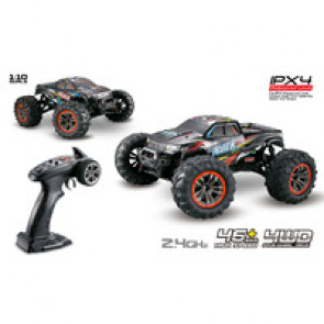 Tornado 1/10 RC IPX4 4WD Brushed Monster Truck 9125