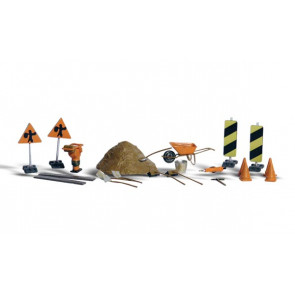 Woodland Scenics Road Crew Details HO-Scale a1851