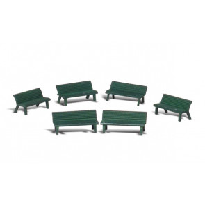 Woodland Scenics Park Benches HO-Scale a1879