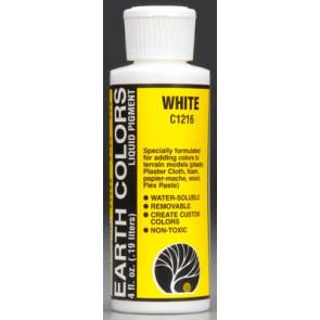 Woodland Scenics Earth Color White 4 oz 118.3ml c1216