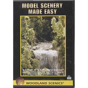 Woodland Scenics Model Scenery Made Easy (DVD) c973