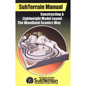 Woodland Scenics SubTerrain How-To-Book st1402