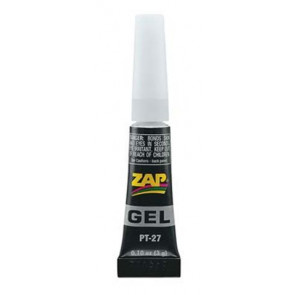 Zap Adhesives Zap Gel CA .11 oz pt27