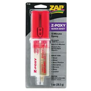 Zap Adhesives 5 Minute Epoxy Syringe 1oz pt36