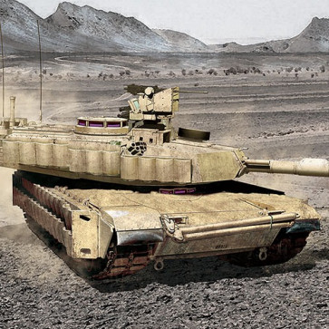 Academy 1/35 Army 1A2 V2 Tusk II 13504