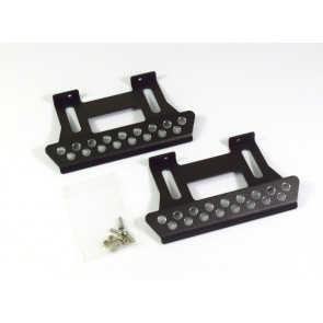 Absima Alloy Foot Step For Crawler (2pc) Black ab2320057