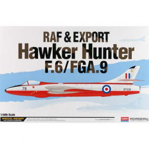 Academy 1/48 Raf & Export Hawker Hunter F.6/Fga.9 12312