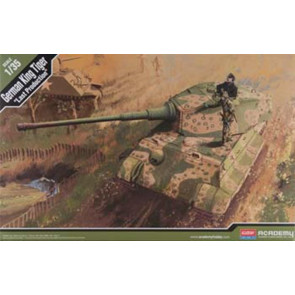 Academy 1/35 German King Tiger Last Production 13229