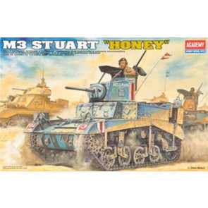 Academy 1/35 M3 Stuart Honey Tank 13270
