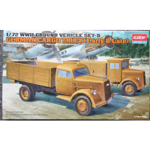 Academy 1/72 German Cargo Truck E/L 13404