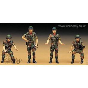 Academy 1/35 Republic Of Korea Tank Crew Figure Set 1369