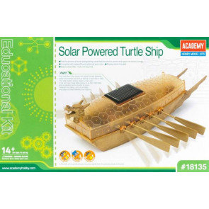 Academy Solar Powered Turtle Boat 18135