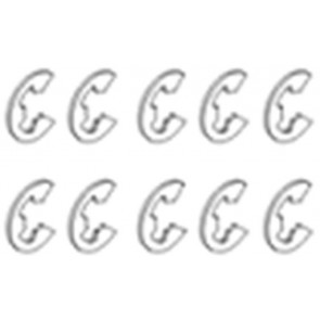 Acme E-ring 4.0mm 10 Pcs 30800