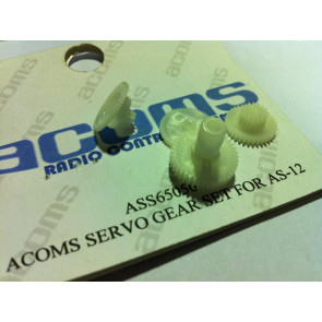 Acoms Servo Gear Set (as-12) 6505