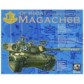 AFV Club 1/144 IDF Magach 6 BAT (AF35060) Plastic Model Kit AF35309