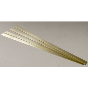 Albion Alloys Brass Strip 12x0.6mm (4pcs) alb-bs5m