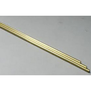 Albion Alloys Brass Tube Round Micro 0.5 x 0.3mm x 1m (1pcs) mbt2xm