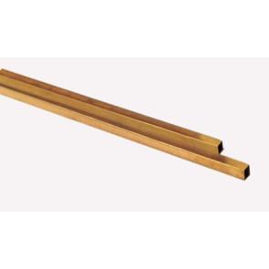 Albion Alloys Brass Tube Square 3.96x0.353mm (2pcs) alb-sb1m