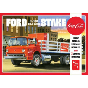 AMT 1/25 Ford C600 Stake Bed w/Coca-Cola Mac 1147