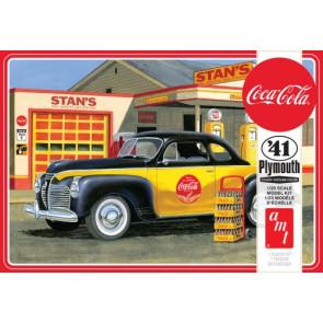 Amt 1/25 1941 Plymouth Coupe (Coca-Cola) 1197