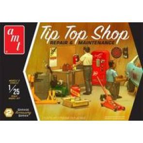 AMT 1/25 Garage Accessory Set Tip Top Shop pp016m