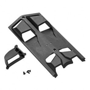 ARRMA High Airflow Center Skid Plate Set NERO ar320346