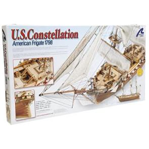 Artesania 1/85 USS Constellation Wooden Ship Model 22850
