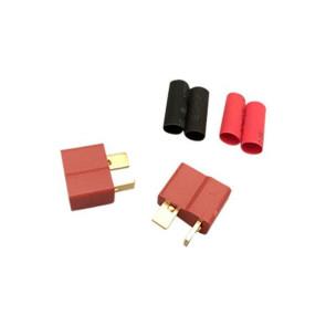 AT e3009 Deans Plugs W/Heatshrink Female (2pc)