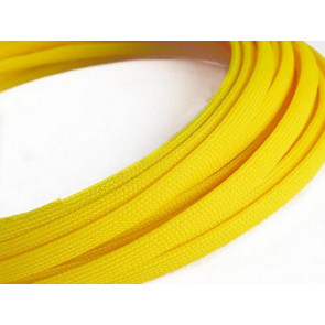 AT at-e4622 Expandable Braided Sleeving (W4mmx200mm) Yellow