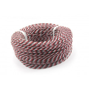 AT e4701 Servo Wire Twisted Black/Red/White (.08x60x1.4mm) (L200mm)