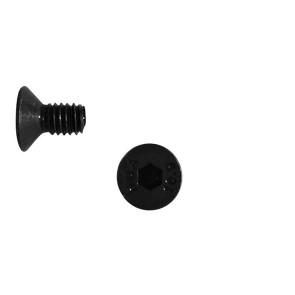AT FHCSM2X6 (6pc) steel flat head (countersunk) cap screw metric