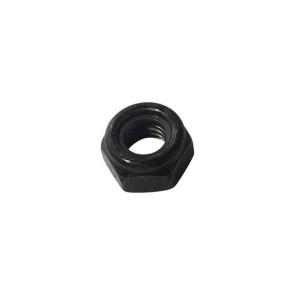 AT LOCKNUT M10 Black Metric 10mm LockNut (6pk)