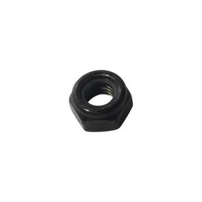 AT LOCKNUT M6 Black Metric 6mm LockNut (6pk)