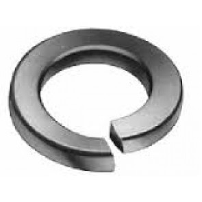 AT Lock WASHER M2.5 Black Metric 2.5mm I.D Split Lock Washer (6pk