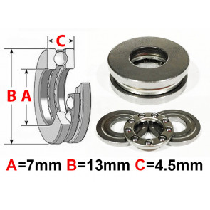 AT Thrust Bearing 7X13X4.5mm (F7-13M) (1pc)