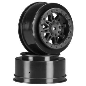 Axial 2.2 3.0 Raceline Renegade Wheels 41mm Black (2) ax08101