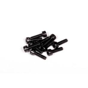 Axial m3x10mm cap head (black oxide) 10pcs axa085