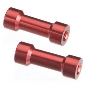 Axial Post 7x20mm Red (2) axa1362