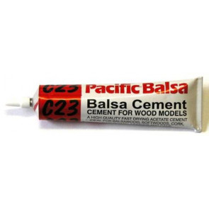 Pacific Balsa Cement C23 50ml Tube Waterproof 0408