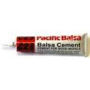 Pacific Balsa Cement C23 25ml Tube Waterproof 0409