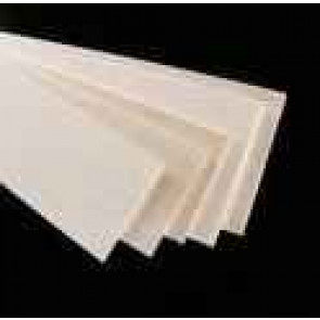 Pacific Balsa Sheet 1/2X4X48IN/12.5X100X1220mm (1) 0450