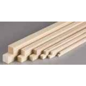 Pacific Balsa Square 5/16x5/16X36IN/8.0X8.0X915mm (1) 2435