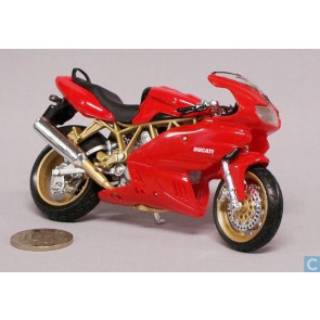 Bburago 1/18 Ducati Supersport 900 (Cycle Collection) 51032