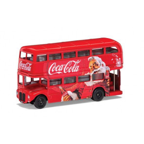 Corgi 1/64 Coca-Cola Christmas London Bus gs82331