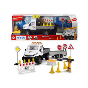 Dickie Toys Playlife Iveco Traffic Set 41.5cm 61332