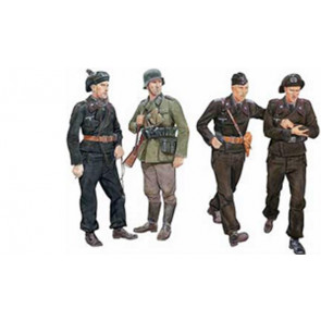 Dragon 1/35 Ghost Division Tank Crew Blitzkrieg 1940 (4 Figures