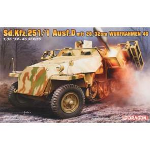 Dragon 1/35 Sd.Kfz.251 Ausf.D w/28/32cm Wurfahme 6861